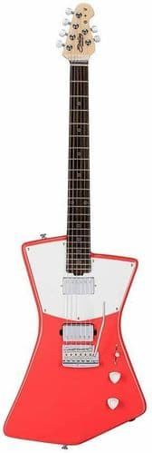 Sterling by Music Man St. Vincent Electric Guitar (Fiesta Red) - STV60HHFRD